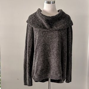 Angel Of The North Cowl Neck Sweater